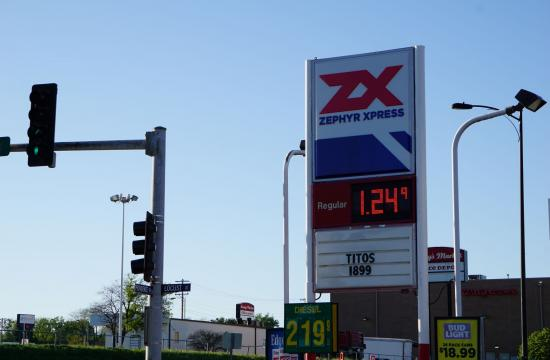 Gasoline Price on May 3 in Columbia